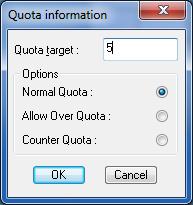 quota target 5