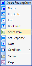 personalizacja - script item