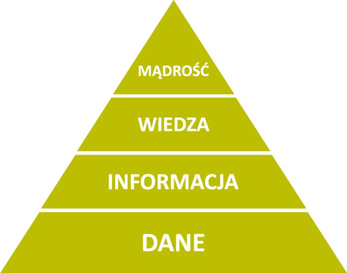 Piramimda wiedzy (schemat DIKW)